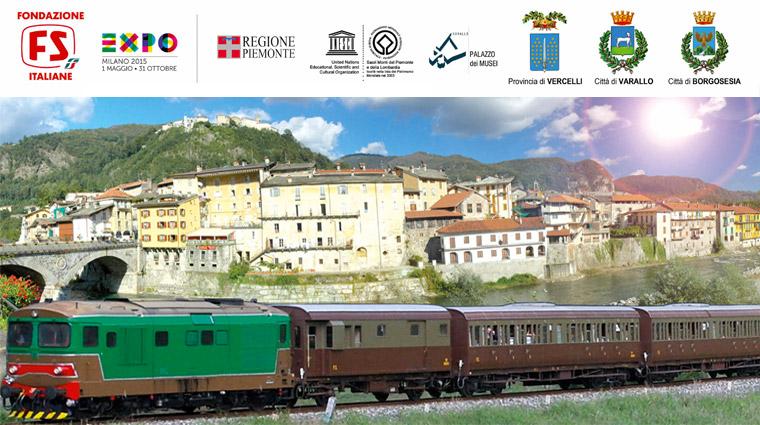 Torna il treno in Valsesia!