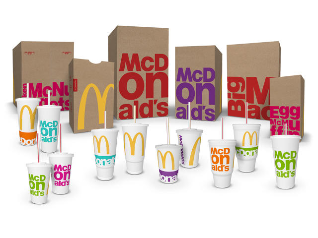 Mc Donald's cambia packaging. Strategia di marketing?